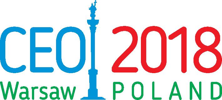 Logo: CEOI 2018 in Polen