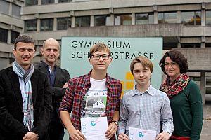 Verleihung ccw'17 Preis in Feldkirch