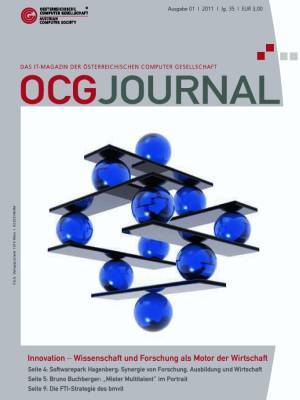 Cover: OCG Journal 1/2011