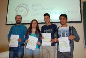 erfolgreiche ECDL KandidatInnen