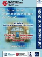 Cover: OCG Jahresbericht 2006