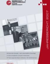 Cover: OCG Jahresbericht 2007
