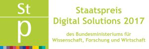 Logo Staatspreis Digital Solutions 2017