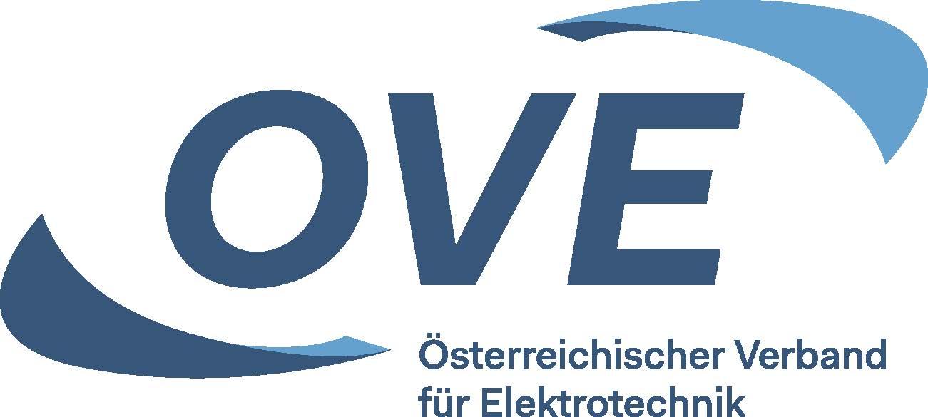 Logo: Österreichischer Verband für Elektrotechnik (OVE)