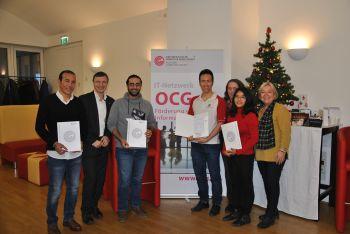 OCG cares Zertifikatsüberreichung