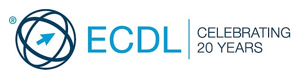 ECDL - Celebrating 20 Years Logo