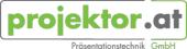 Logo: projektor.at Präsentationstechnik GmbH