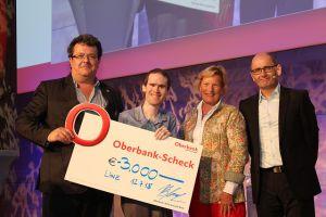 Preisverleihung Roland Wagner Award, K. Höckner, M.Curran, E.A. Draffan, K. Miesenberger