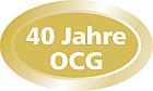 40 Jahre OCG - Button