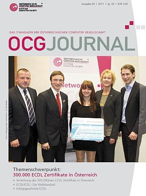Cover: OCG Journal 4/2011