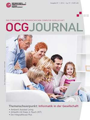 Cover OCG Journal 1/2012