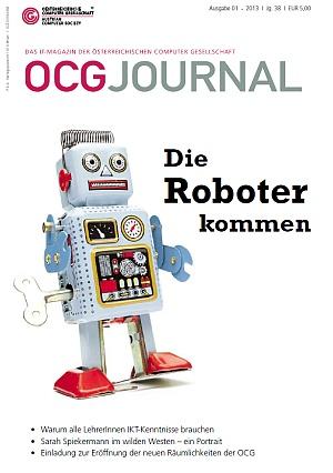 Cover: OCG Journal 1/2013