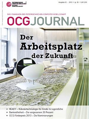 Cover: OCG Journal 2/2013