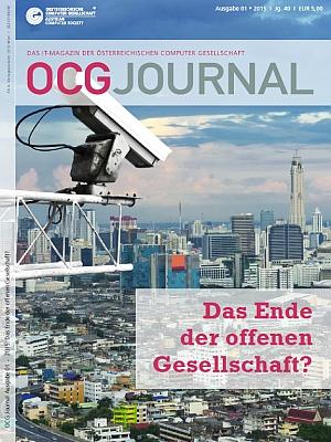 Cover: OCG Journal 1/2015