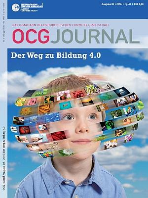 Cover: OCG Journal 2/2016 - Der Weg zu Bildung 4.0