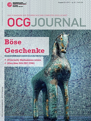 Cover: OCG Journal 2/2017 - IT Security