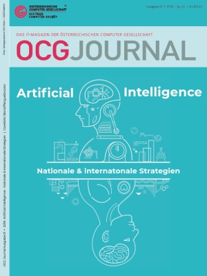 Cover: OCG Journal 1/2019 - Artificial Intelligence - Nationale & internationale Strategien