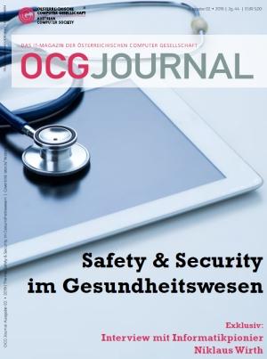 Cover: OCG Journal 2/2019 - Safety & Security im Gesundheitswesen