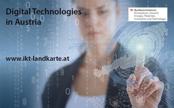 Digital Technologies in Austria Research Map - IKT Forschung in Österreich