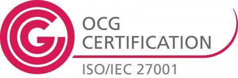 Logo OCG Certification ISO/IEC 27001
