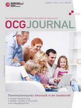 Cover OCG Journal 1/2012