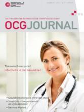 Cover: OCG Journal 3/2012
