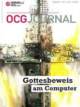 Cover: OCG Journal 4/2013