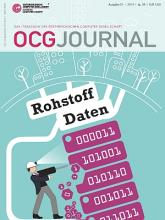 Cover: OCG Journal 1/2014