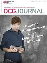 Cover: OCG Journal 2/2014