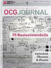 Cover: OCG Journal 3/2014
