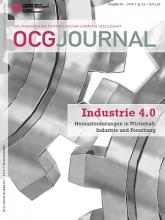 Cover: OCG Journal 4/2014
