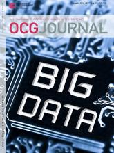 Cover: OCG Journal 3-4/2016 - Big Data & Data Science
