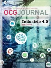 Cover: OCG Journal 2/2018: Industrie 4.0 - Smart Factory