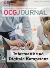 Cover: OCG Journal 1-2/2021
